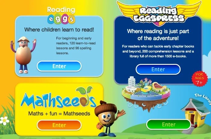 Reading Eggs Mathseeds Eggspress