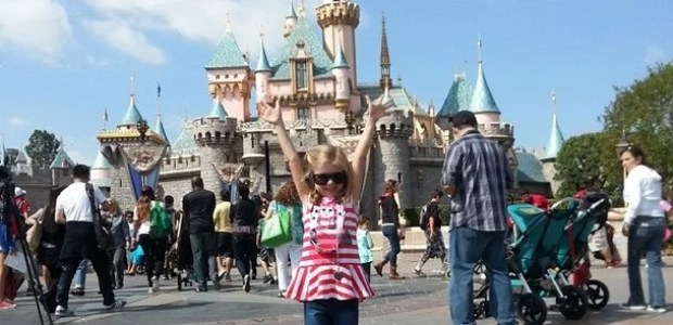 First Visit To Disneyland