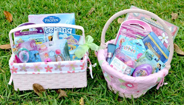Non Candy Girls Easter Basket Ideas
