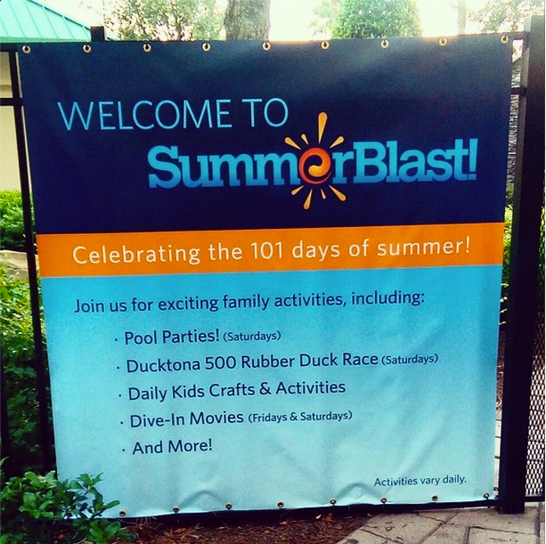 Bonnet Creek Sumer Blast