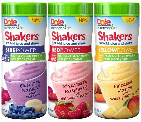 Dole Nutrition Plus Power Shakers