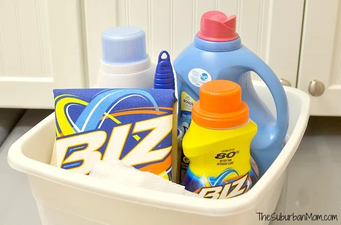 Dorm Room Laundry Gift Basket