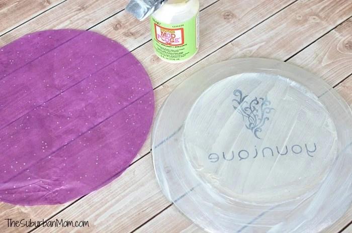 Mod Podge Decorative Plate