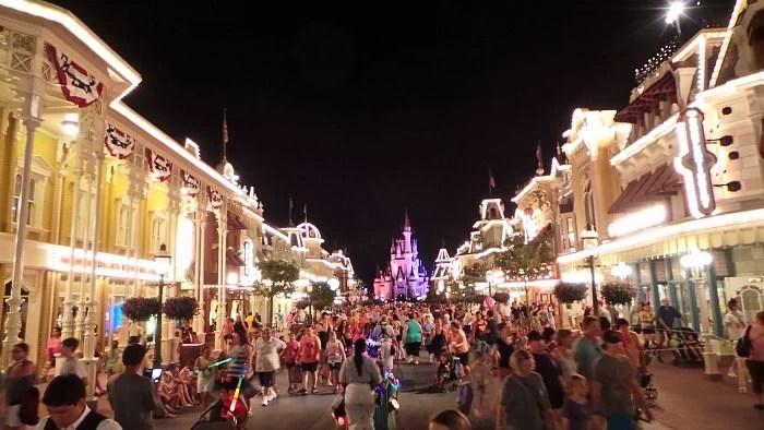 Walt Disney World Magic Kingdom Night