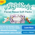 AngelSoft Facial Tissue Soft Packs