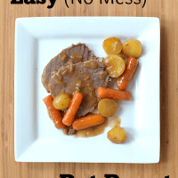 Easy (No Mess) Pot Roast