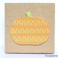 Easy Pumpkin Washi Tape Craft