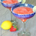 Strawberry Lemonade Margarita