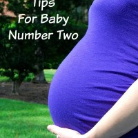 8 Pregnancy Tips For Baby Number Two ~ $100 Giveaway