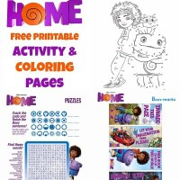 Dreamworks Home Activity Pages ~ $25 Visa Giveaway