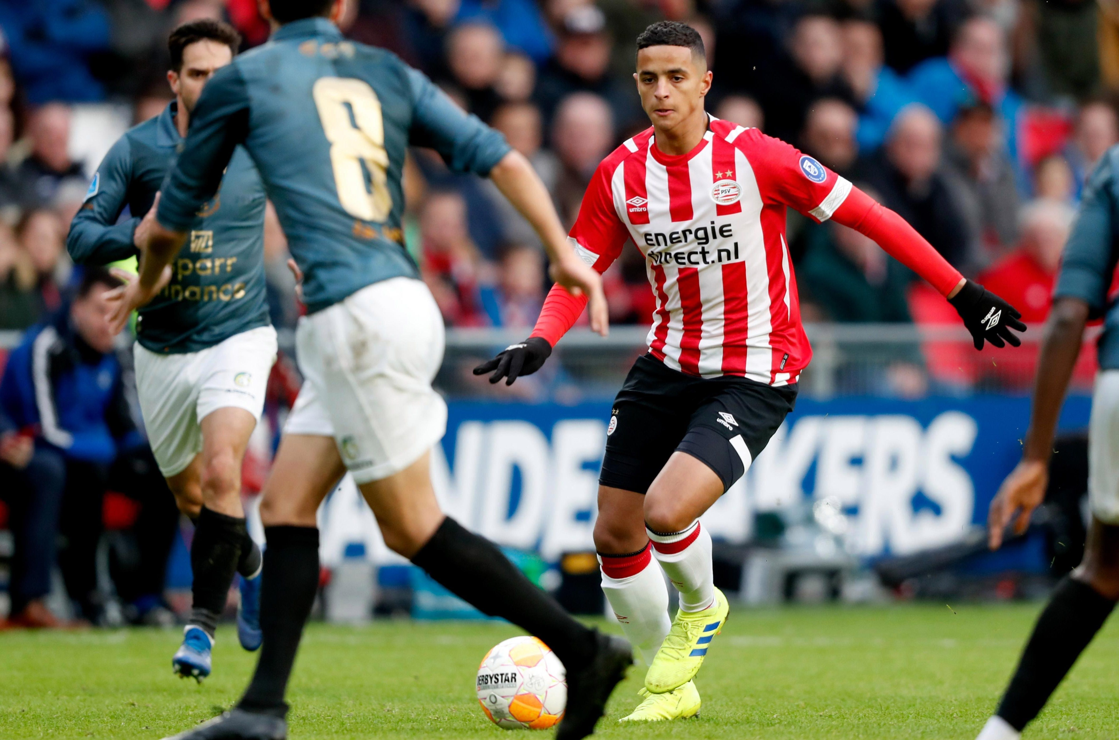 Chelsea and Man City on transfer trail of PSV midfield prodigy Mo Ihattaren