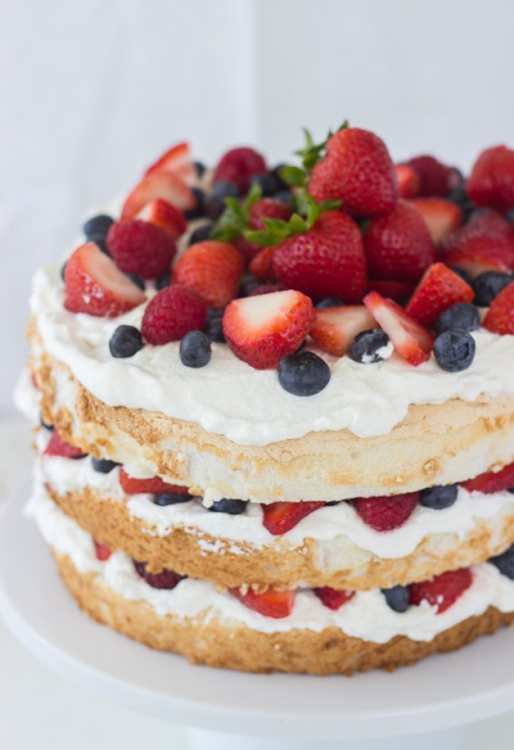 Angel-Food-Cake-with-Coconut-Whipped-Cream-and-Berries-1