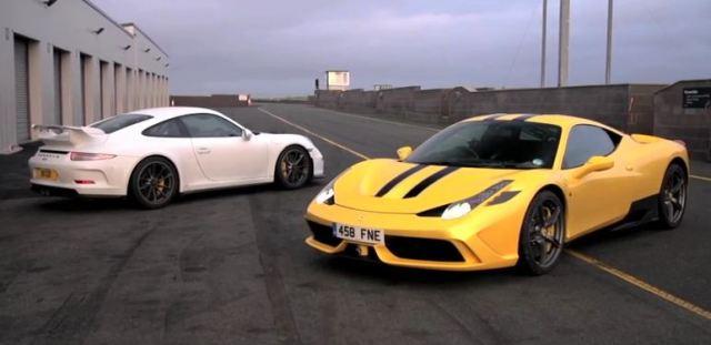chris harris on cars ferrari 458 speciale vs porsche 911 gt3 the supercar blog. Black Bedroom Furniture Sets. Home Design Ideas