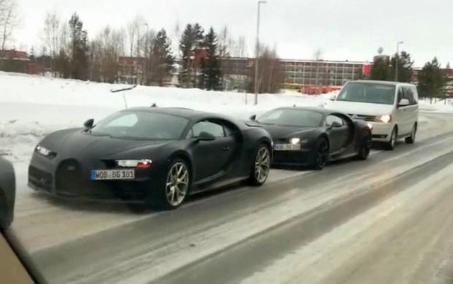bugatti chiron prototypes testing in sweden the supercar blog. Black Bedroom Furniture Sets. Home Design Ideas