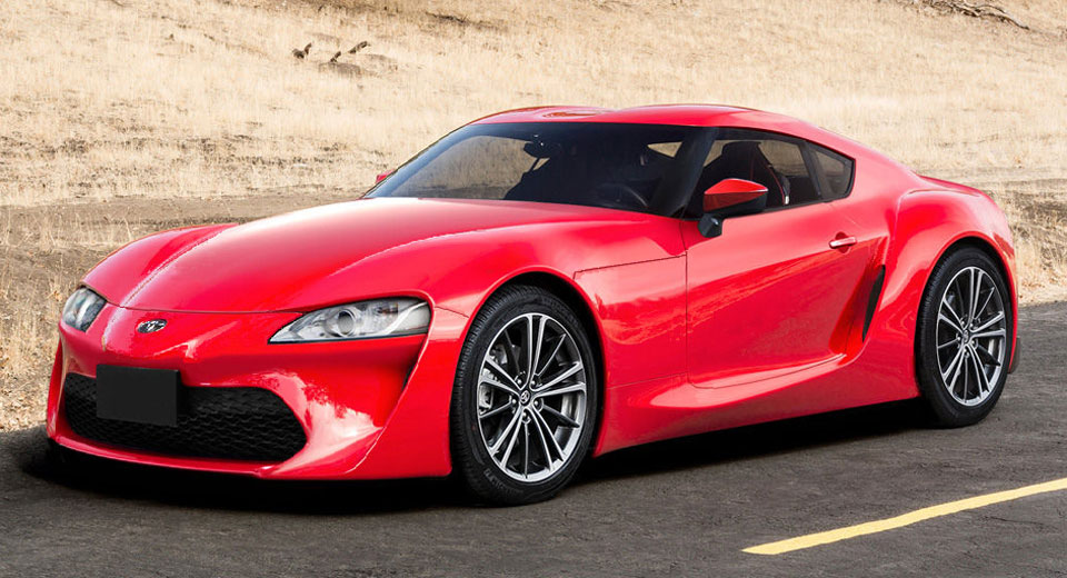 2018 Toyota Supra MkV Rendered