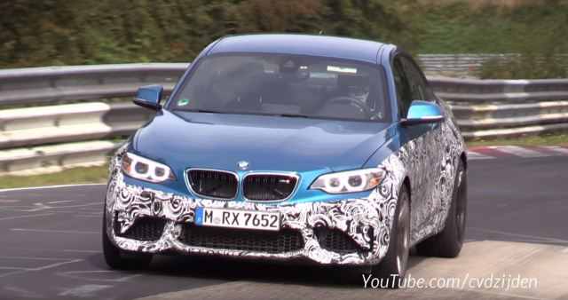 SCOOP: 2018 BMW M2 CS (ClubSport) Spotted at Nurburgring