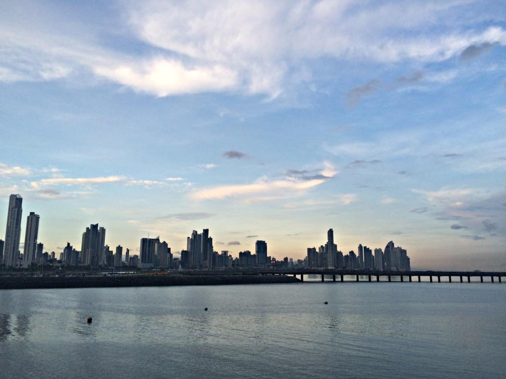 The Panama City skyline