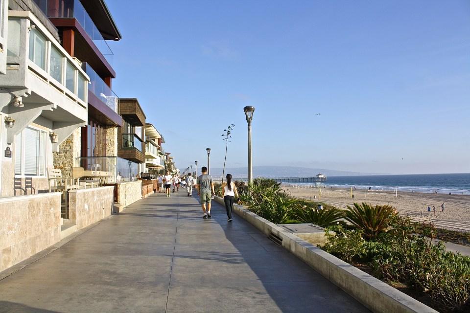 The Manhattan Beach Strand