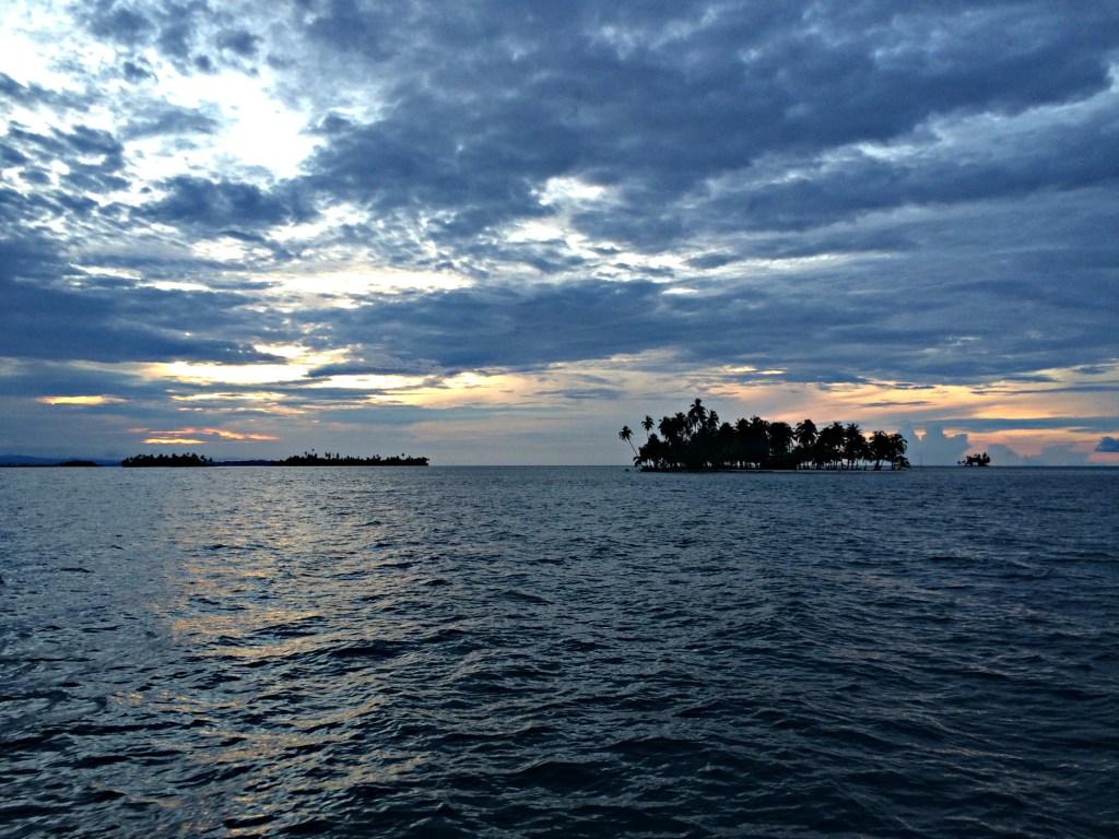 San Blas Islands at dusk