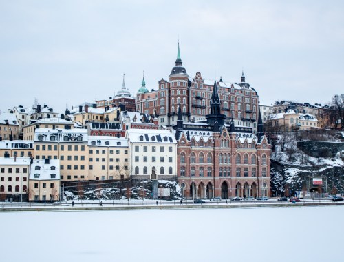 Sweden in Winter: Stockholm