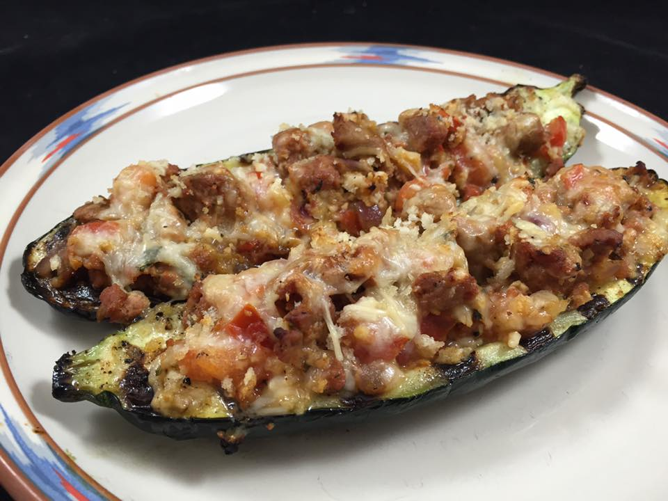 Grilled Sausage-Stuffed Zucchini — A Delicious End of Summer Meal or ...