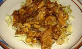 Slowcooker Rosemary Cashew Chicken