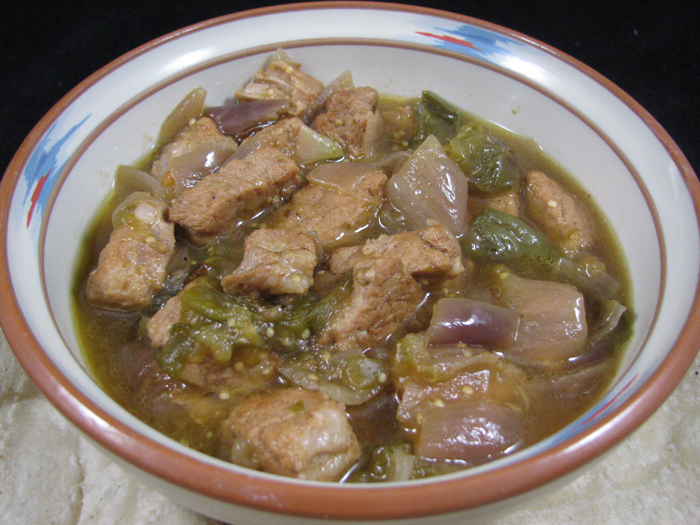 bobby flay green pork chili