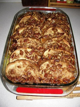 Baked Pecan Praline French Toast