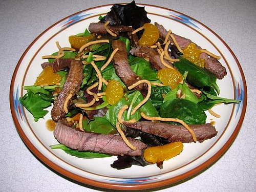 Grilled Asian Beef Salad