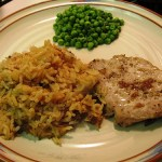 Jeff's Pork Chops and Rice