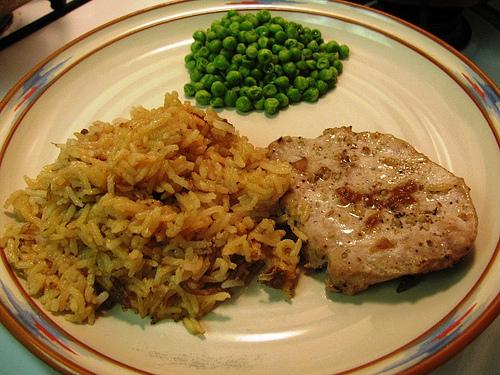 Jeff's Pork Chops and Rice