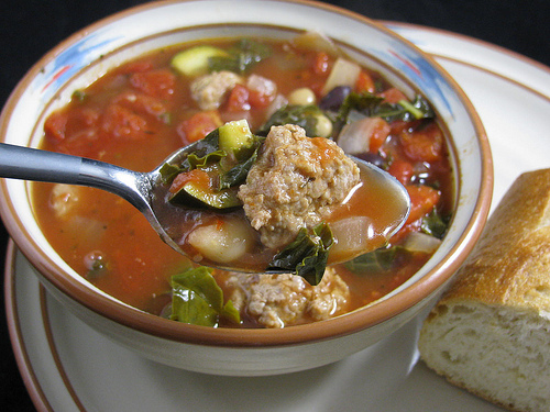 Slow Cooker Italian Sausage and Vegetable Soup