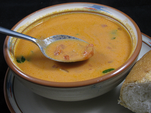 sherried tomato soup