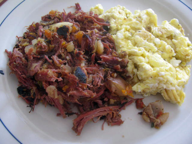 alton brown corned beef hash