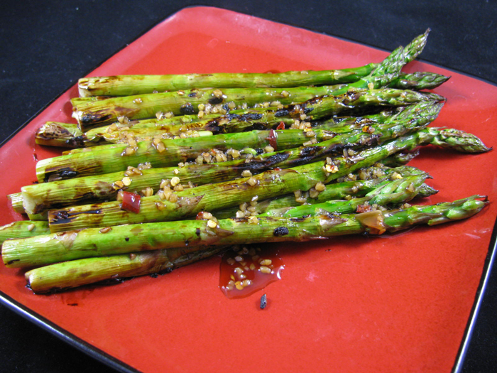asian grilled asparagus
