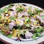 Chipotle Chicken Salad With Creamy Salsa Dressing