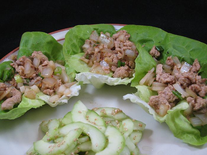 Chicken Lettuce Wraps