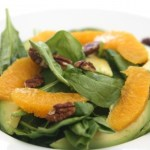 Orange, Avocado, and Spinach Salad with Citrus Vinaigrette