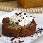 Banana Bread with Chocolate Chips and Cacao Nibs