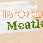 5 Tips for Going Meatless