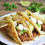 Slow Cooker Beer-Braised Beef Tacos