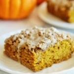 Pumpkin Spice Latte Crumb Cake