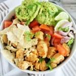 Chipotle Chicken and Guacamole Grain Bowl