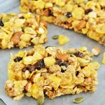 Honey Trail Mix Cereal Bars