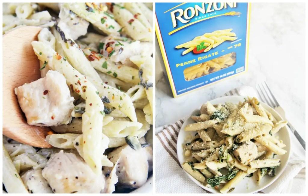 chicken-spinach-artichoke-pasta-6