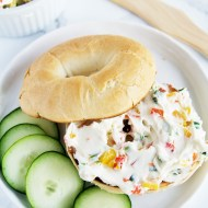 Garden Vegetable Cream Cheese Spread