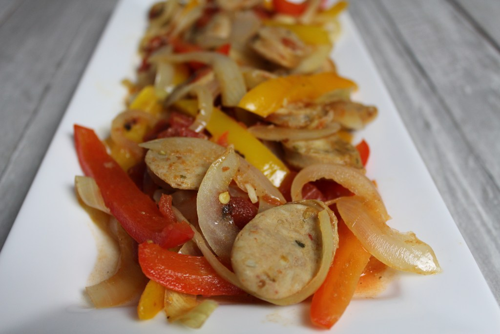 Sausage, Peppers, & Onions