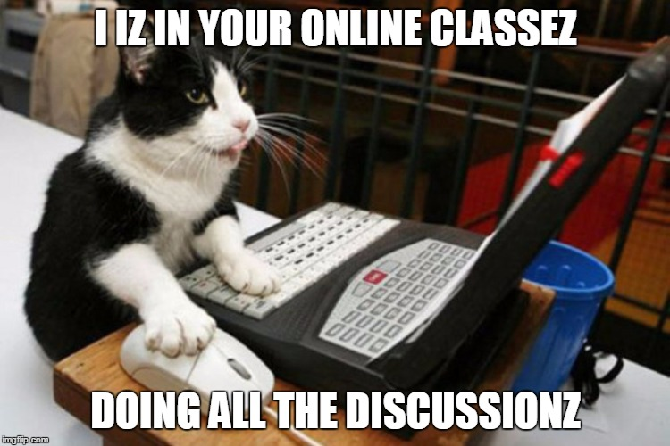 Some Thoughts on Online Learning and the Humanities.