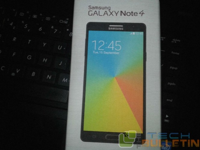 note 4 retail box