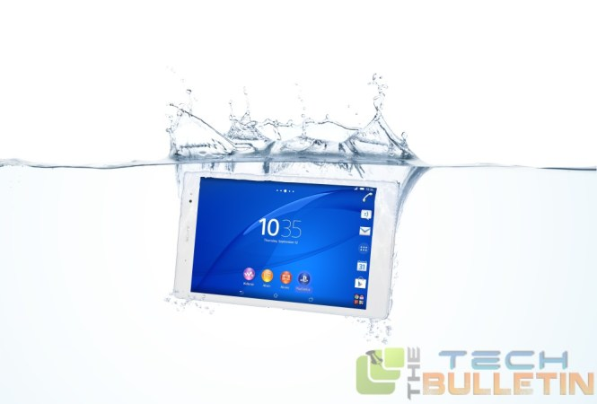 Xperia Z3 tablet compact water test
